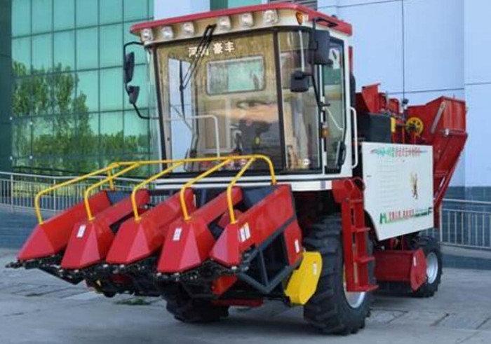 河南豪丰4YZ-4B自走式玉米收获机