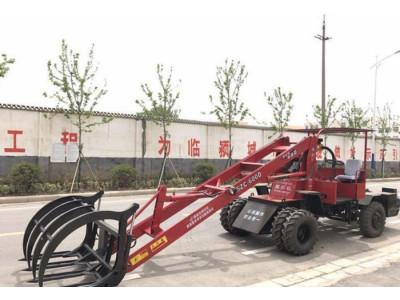 临颍县颍机5ZC-600D农用抓草机