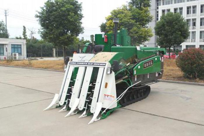 泰州常發4LB-150Ⅱ型履帶自走式半喂入稻麥聯合收割機