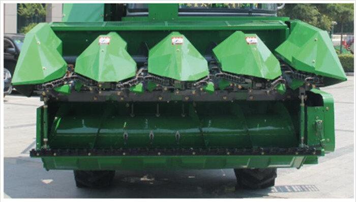 金大丰4YZPSJ-4自走式穗茎兼收玉米收获机