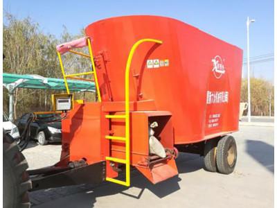 宁夏新大众9TMR-7型全混合日粮饲料制备机