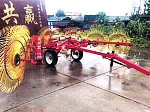 河北农源9LZ-5.4指轮式搂草机