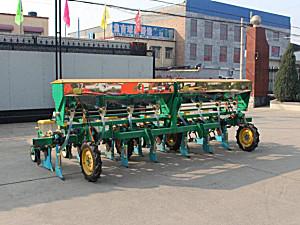 河北神禾2BYMF-8玉米免耕施肥精量播种机