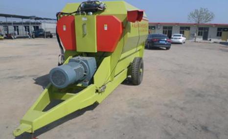 诺达金农9TMRW-5全日粮饲料制备机