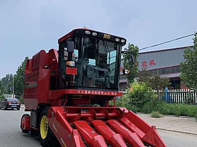 河北冀新4YZB-4L自走式玉米收获机