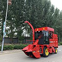 冀新4YZQ-2D1玉米联合收获机