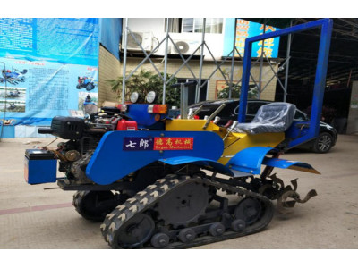 广西玉林德高3ZP-0.8GC自走式中耕培土机