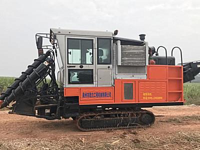 泉州劲力4GL-1整杆式甘蔗联合收获机