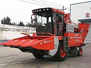 山东巨明4YZP-4C1自走式玉米收获机