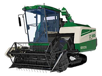 常發CF865履帶自走式谷物聯合收割機
