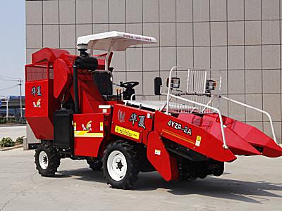 华夏4YZP-2A玉米收获机