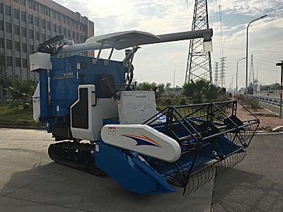 浙江柳林4LZ-6.0A自走履帶式谷物聯合收割機