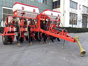 合肥首瑞2BMQYF-6/6牵引型气吸式玉米免耕播种机