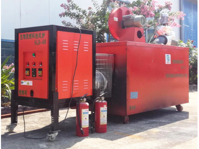 岳西吾诚5LS-60生物质燃料热风炉