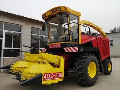北京德乐4QZ-830A自走式青贮饲料收获机
