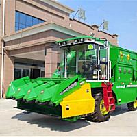 嘉駿4YZQ-4玉米收獲機