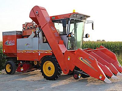金達威4YZP-3D自走式玉米收獲機