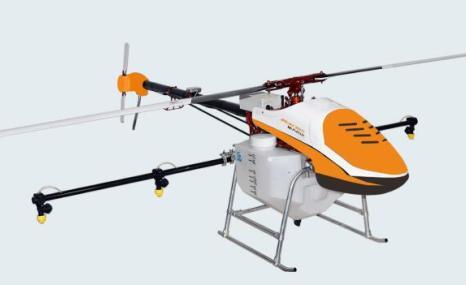 航天巴山D10四旋翼植保无人机