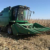 常發佳聯4YZ-5D玉米籽粒收獲機