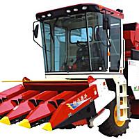 豪豐4YZX-4玉米收割機