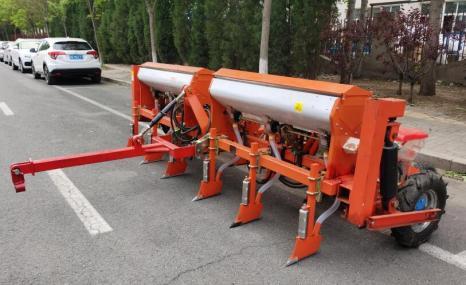 天津士富2BMYFQ-6牽引式玉米免耕施肥播種機