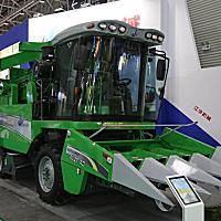 江华4YZP-4D玉米收获机