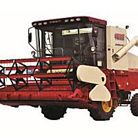 中聯收獲新疆4LZ-8大豆收獲機