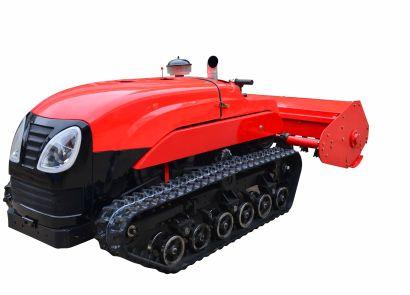 洛陽瑪斯特遙控履帶自走式割草粉碎機