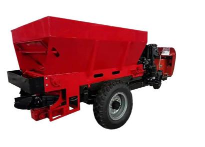 意美特履帶自走式固體有機肥撒施機