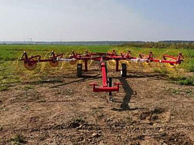 農豐源9LZ-7.6指輪式摟草機
