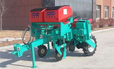 北大荒众荣2BMZ-2Q牵引免耕精密指夹式播种机
