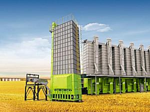 中联谷王5HXG-30C批式循环谷物干燥机