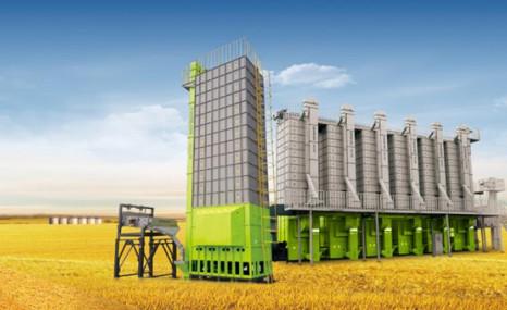 中聯谷王5HXG-30C批式循環谷物干燥機