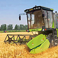 谷王TB80B(4LZ-8B1)小麦收割机