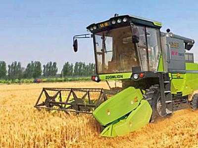 中联谷王TB80B小麦收割机