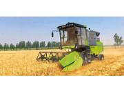 谷王TB80B小麦收割机