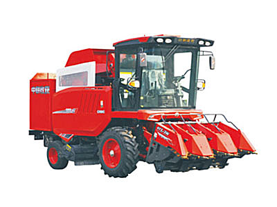 电竞收获4YZ-3W自走式玉米收获机