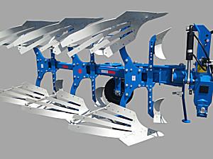 郑州龙丰L系列1LYFT-360液压翻转犁