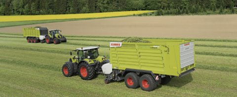 CLAAS(科乐收)CARGOS8000系列多功能青贮运料车