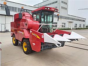 新农发4YZP-3玉米收获机