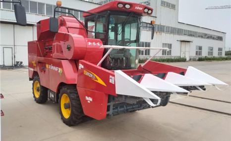 新農發4YZP-3玉米收獲機