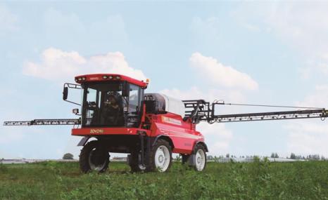 中農博遠3WPZ-3000自走式噴桿噴霧機
