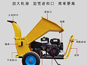 丰瑞机械常柴16马力碎枝机