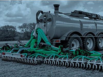 Samson(薩姆森)PGII20草地型液體糞肥撒肥機