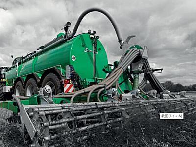Samson(薩姆森)PGII20深松型液體糞肥撒肥機