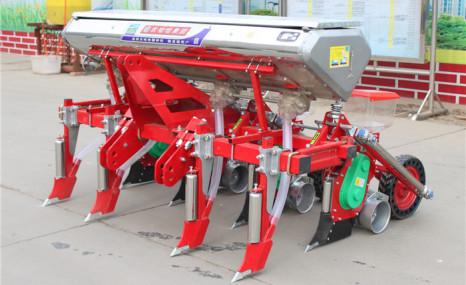 農哈哈2BYF-4A玉米精量播種機
