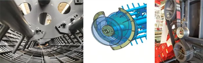 雷沃谷神RG60(4LZ-6G1)谷物聯合收割機