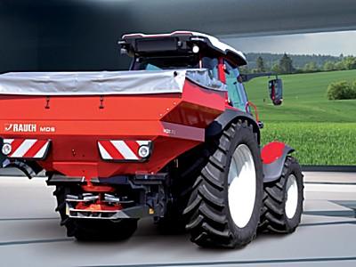德國奧禾MDS-緊湊型全能撒肥機