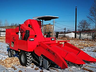 吉林啟豐4YZP-2L型自走式玉米收獲機