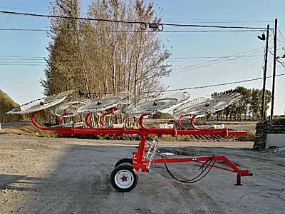 吉林萬春9LZ-5.5指輪式摟草機